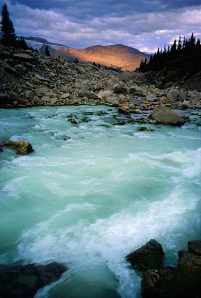 Yoho River and Waterfall Valley