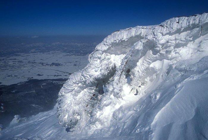 Slope of Mount Yotei, Hokkaido, Japan
