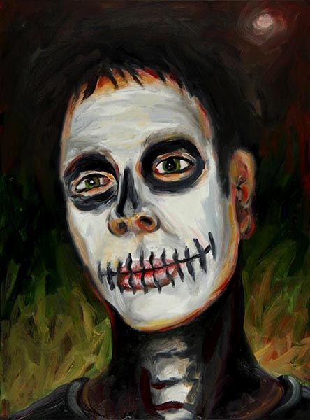 14-skeleton-2008-oil-on-canvas-24x18-inches