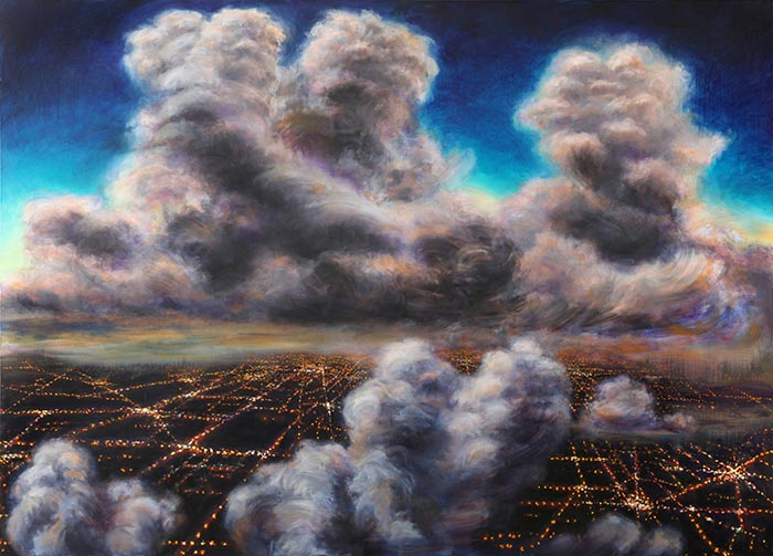 night-flight-thunder-heads-over-city-lights-2008-oil-on-canvas-60x84-in-700