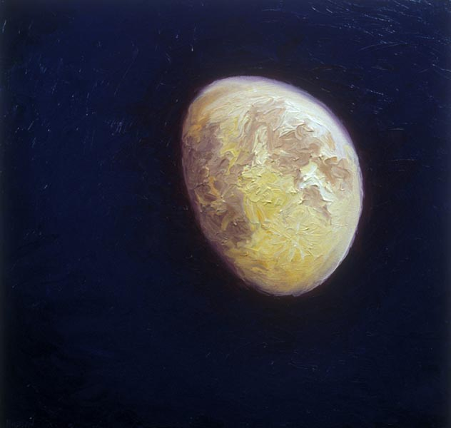 Half Moon (1995), oil on panel