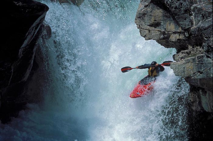 White Water Kayaking, Elbow River, Alberta - Joey Vosburg