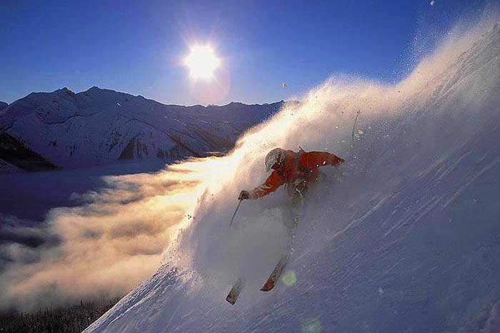 Sunset Ridge Slash, Kicking Horse, B.C. - Colin Puskas