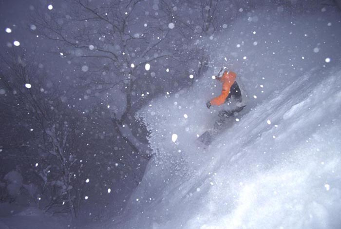 Snowstorm, Hakuba, Japan - Scott Gaffney
