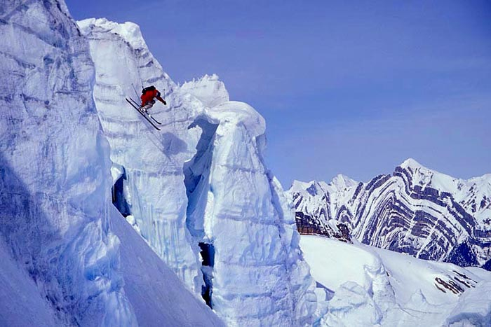 Vertebrae Glacier Drop, Chatter Creek, B.C. - Eric Hjorleifson
