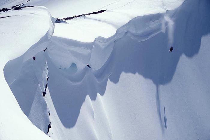 Cornice Drop, Parker's Ridge, Alberta - Mathiew St. Amour