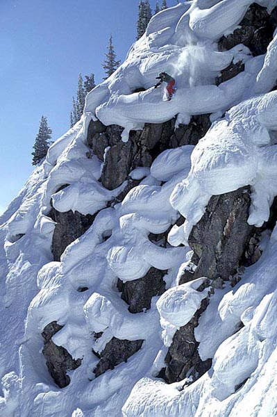 Pillow Lines, Sunshine Alberta - Scott Gaffney