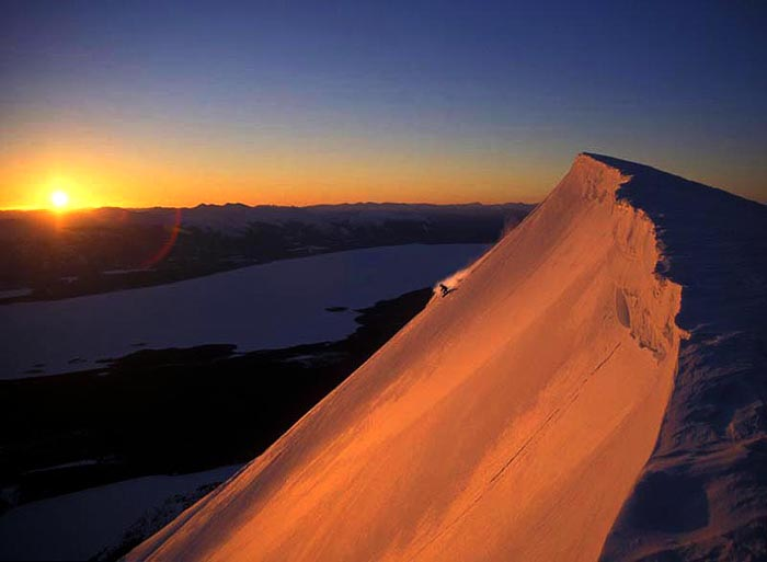 Mt. Atlin Sunrise, Klondike Heli, B.C. - Karleen Jeffery